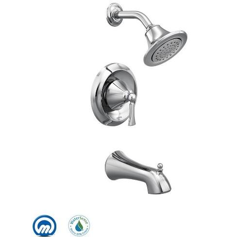 Moen T4503EP Wynford Single Handle Posi-Temp Pressure Balanced Tub and Shower Trim - image 1 of 2