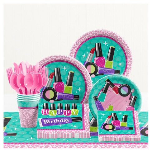 Sparkle Spa Birthday Party Supplies Kit - image 1 of 1