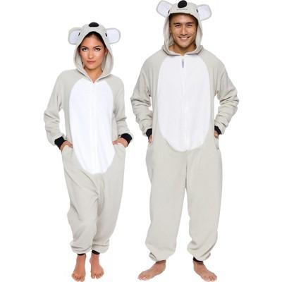 Funziez! Koala Slim Fit Adult Unisex Novelty Union Suit