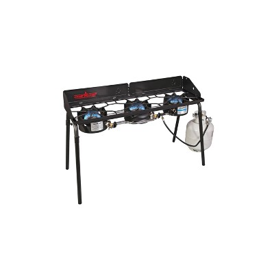 Camp Chef CSA Explorer Three Burner Stove - Black