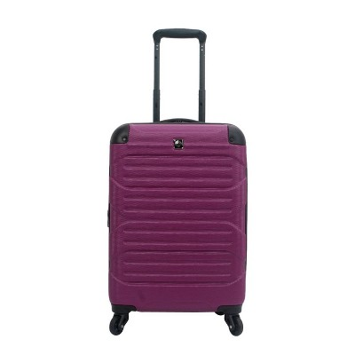 "Skyline 20"" Hardside Spinner Carry On Suitcase - Berry"