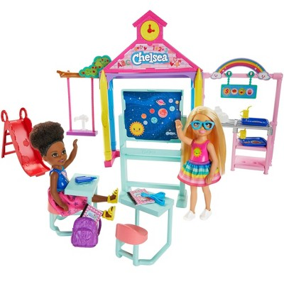 Barbie Club Chelsea School Doll Playset