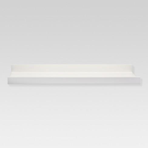 Large Display Ledge - White - Threshold™ - image 1 of 2