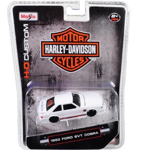 "1993 Ford SVT Cobra White ""Harley Davidson"" 1/64 Diecast Model Car by Maisto - image 1 of 1"
