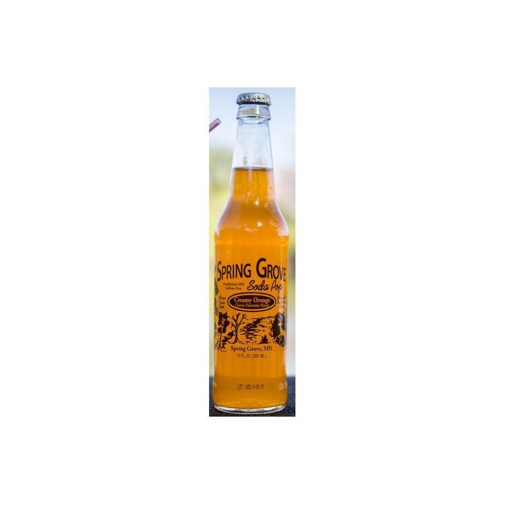 Spring Grove Creamy Orange Soda - 6pk/12 fl oz Glass Bottles