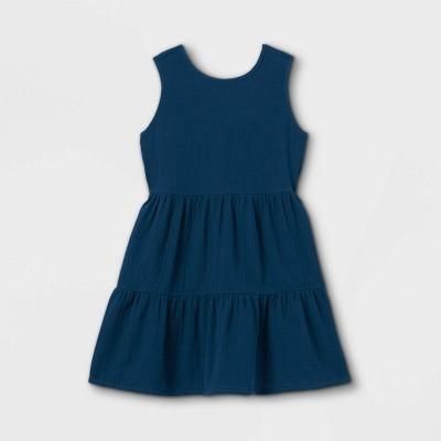 Girls' Gauze Sleeveless Dress - Cat & Jack™