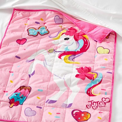 JoJo Siwa Stay Sweet Weighted Blanket