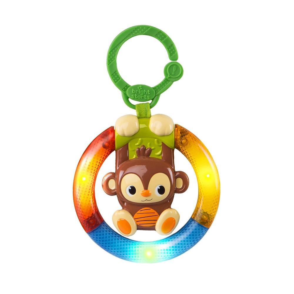 Image of Bright Starts Shake & Glow Monkey Activity Toy