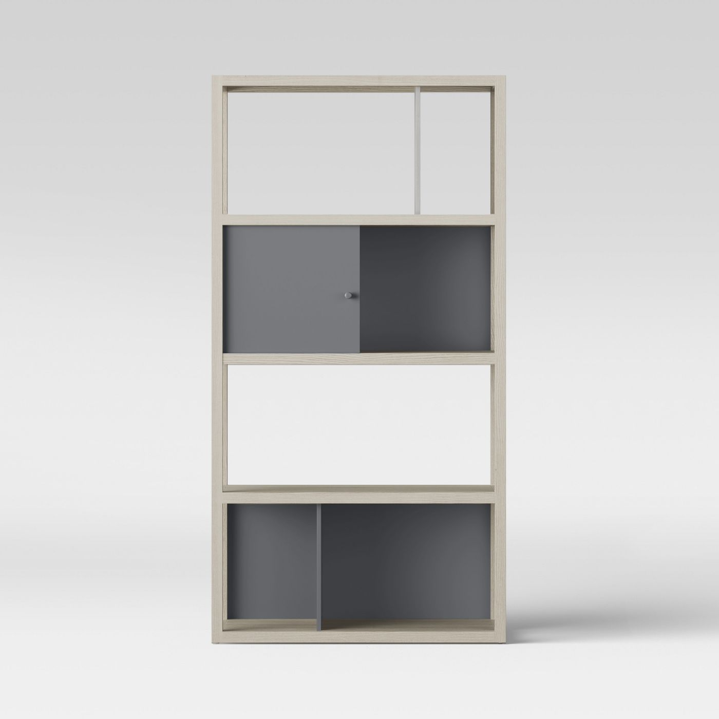 "Siebert 65.9"" 4 Shelf Vertical Bookcase"