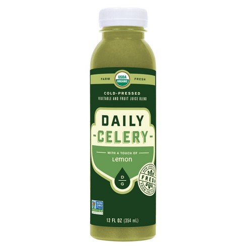 Daily Greens Celery Organic Vegan Cold Pressed Juice - 12 fl oz - image 1 of 1