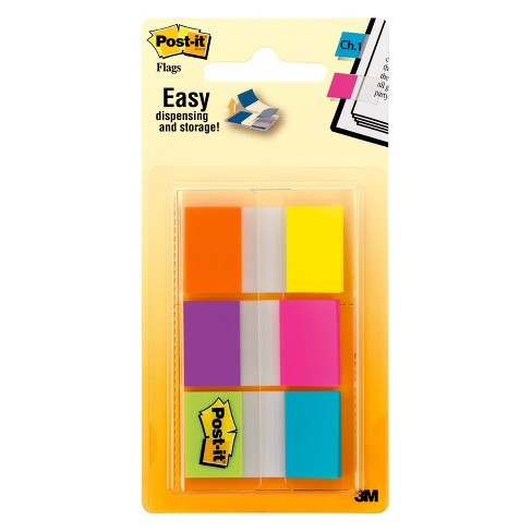 "Post-it® Flags 1"" wide - Alternating Colors - 60ct - image 1 of 3"