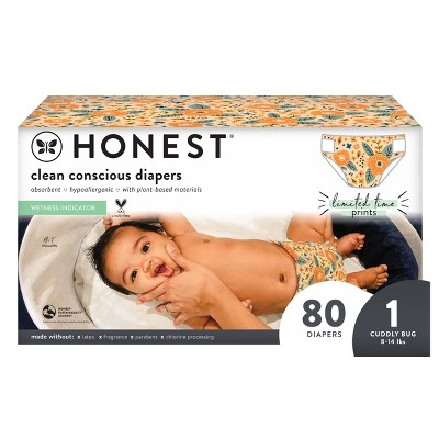 The Honest Company Disposable Diapers - Prairie Petals - (Select Count and Size)