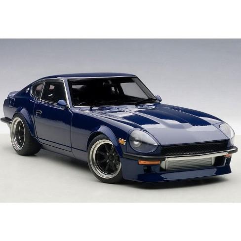Nissan Wangan Midnight Devil Z Blue 1/18 Diecast Model Car by Autoart