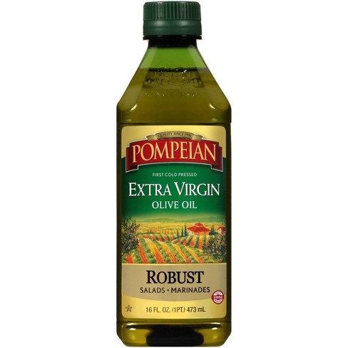 Pompeian Robust Extra Virgin Olive Oil - 16oz - image 1 of 4