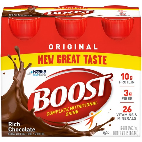 Boost Original Complete Nutritional Drink - Rich Chocolate - 8oz - image 1 of 5