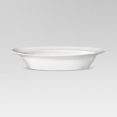 Rimmed Oval Side Dish 32oz Porcelain - Threshold™