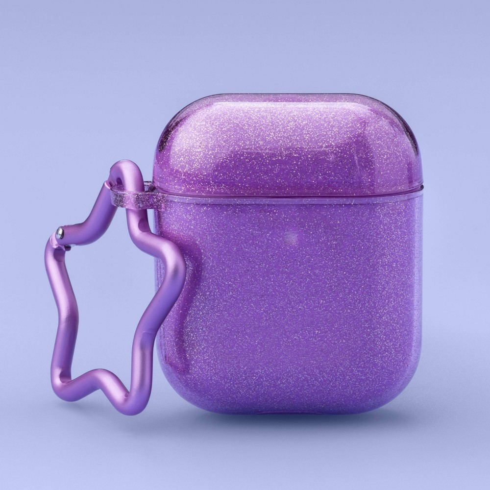 Airpod Hardshell Case Glitter Purple More Than Magic 8482