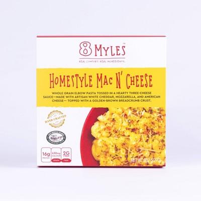 8 Myles Frozen Three Cheese Homestyle Mac - 8oz