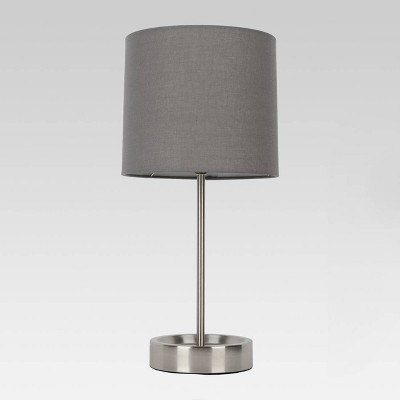Stick Lamp Gray - Room Essentials™