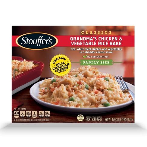 Stouffer's Classics Grandma's Chicken & Vegetable Frozen Rice Bake - 36oz - image 1 of 4