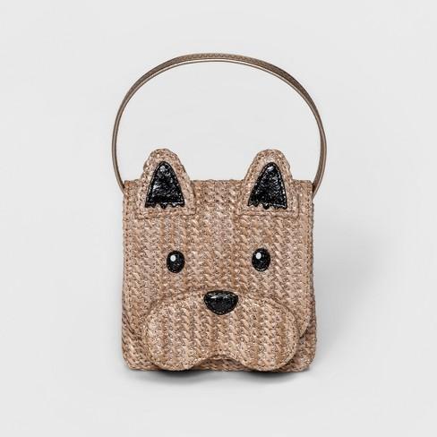 a12d1da6d228 Girls  Straw Dog Satchel - Genuine Kids® From OshKosh Natural   Target