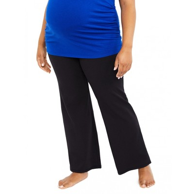 Motherhood Maternity | Plus Size Secret Fit Belly Maternity Yoga Pants