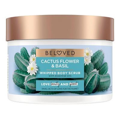 Beloved Cactus Flower & Basil Body Scrub - 10oz