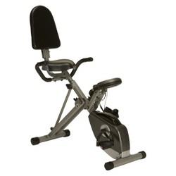 Exerpeutic Folding Semi Stationary Recumbent Bike