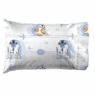Saturday Park Star Wars Droids Pillow Case - 20x30 Blue