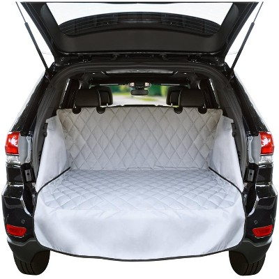Jumbl Cargo Liner For SUV's and Cars, Waterproof Material, non Slip Backing, With Side Walls Protectors, Extra Bumper Flap Protector, Large Size - Universal Fit