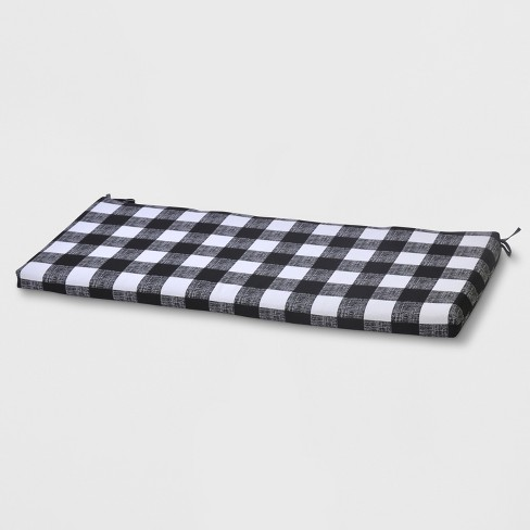 Buffalo Plaid Outdoor Bench Cushion - Threshold™ - image 1 of 3