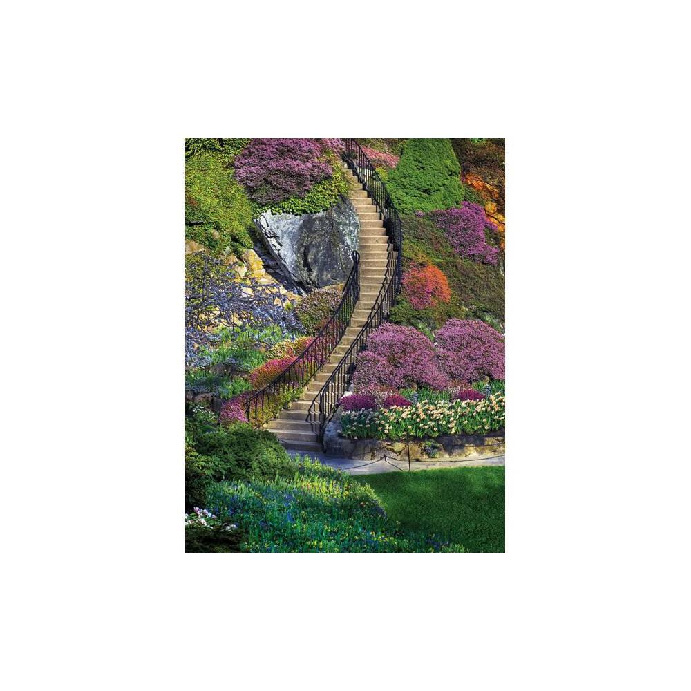 Springbok Garden Stairway Jigsaw Puzzle 500pc
