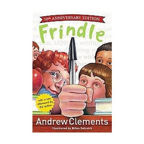 Frindle - by  Andrew Clements (Hardcover) - image 1 of 1