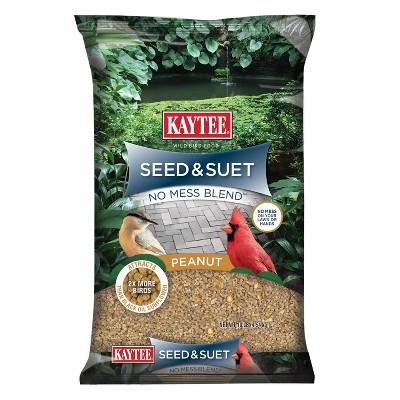 KAYTEE Seed and Suet Bird Food - 10lbs