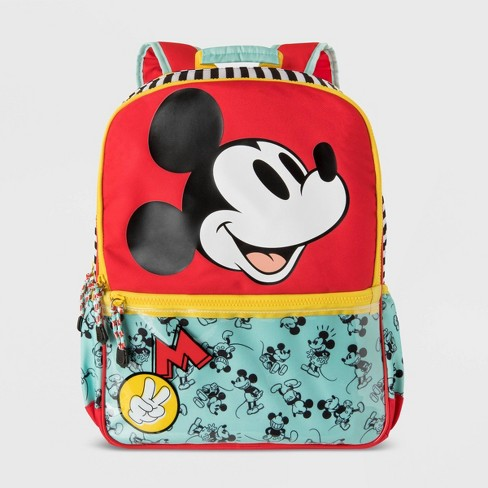 Kids' Disney Mickey Mouse Backpack - Red/Blue - Disney Store - image 1 of 4