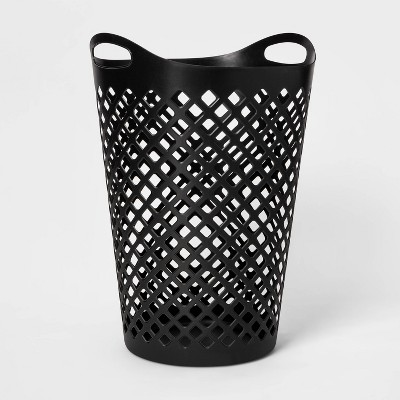 Flexi Laundry Hamper Black - Room Essentials™