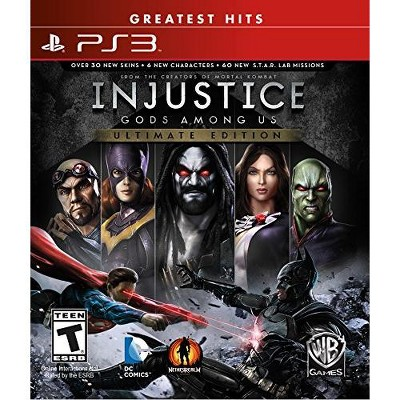 Injustice: Gods Among Us Ultimate Edition - PlayStation 3
