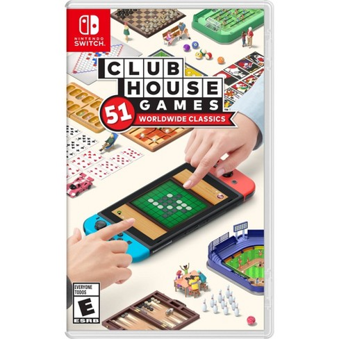 Clubhouse Games: 51 Worldwide Classics - Nintendo Switch - image 1 of 4