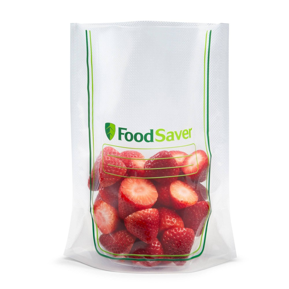 Image of FoodSaver Quart Easy Fill Bags, Clear