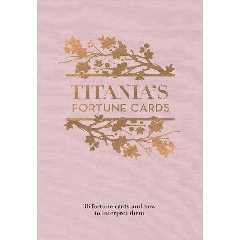 Titania's Fortune Cards - by  Titania Hardie (Hardcover) - image 1 of 1
