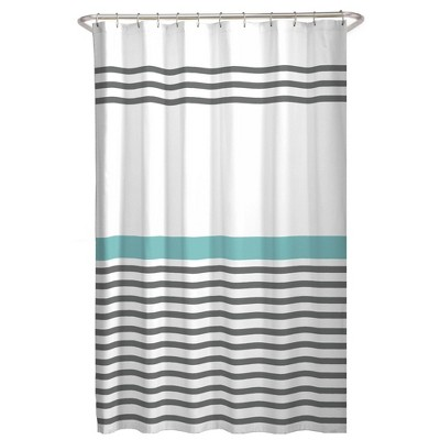 Simple Striped Shower Curtain - Zenna Home