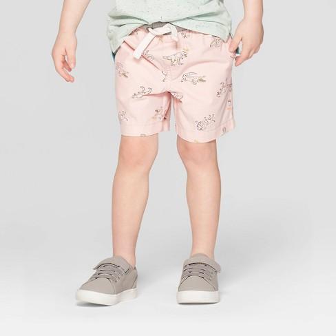 914253bb8 Toddler Boys' Animal Print Pull-On Shorts - Cat & Jack™ Pink : Target