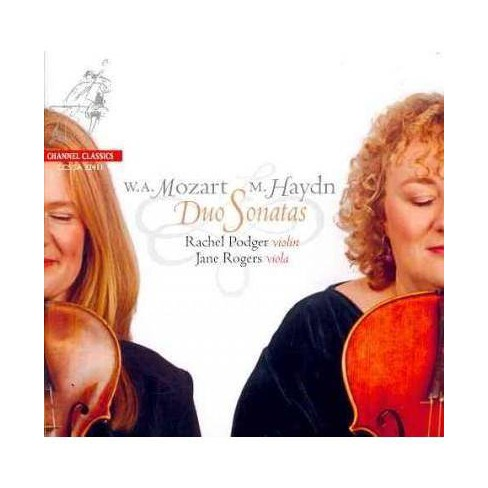 Mozart: Duos for Violin and Viola K. 423 & 424, Menuetto K. 487 (CD) - image 1 of 1