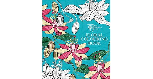 Royal Horticultural Society Floral Adult Coloring Book - image 1 of 1