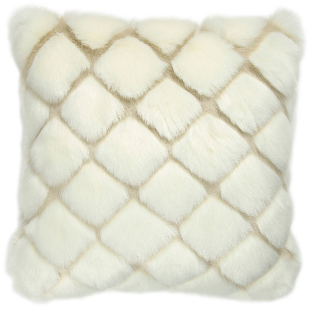 Geometric Filled Throw Pillow Rizzy Home