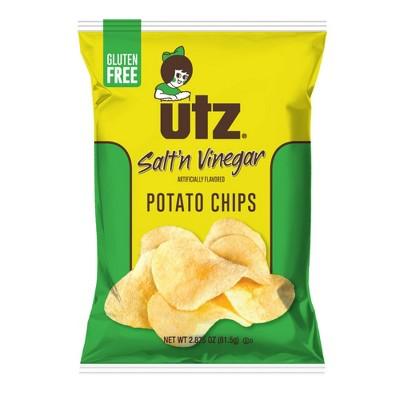 Utz Salt 'n Vinegar Flavored Potato Chips - 2.875oz