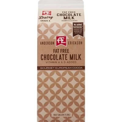 Anderson Erickson Skim Chocolate Milk - 0.5gal