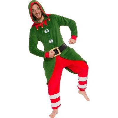 Funziez! Holiday Elf Slim Fit Men's Novelty Union Suit