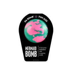 Da Bomb Bath Fizzers Mermaid Bath Soaks - 3.5oz