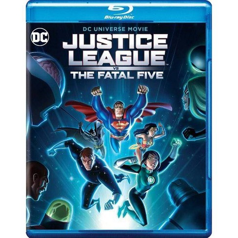 DCU: Justice League vs The Fatal Five (Blu-Ray) - image 1 of 1